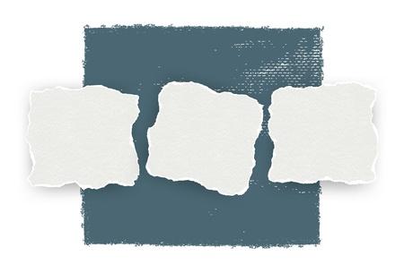 torn paper background: Torn paper background