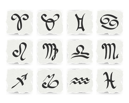 zodiacal: Zodiacal signs