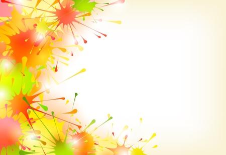 Colorful background  イラスト・ベクター素材