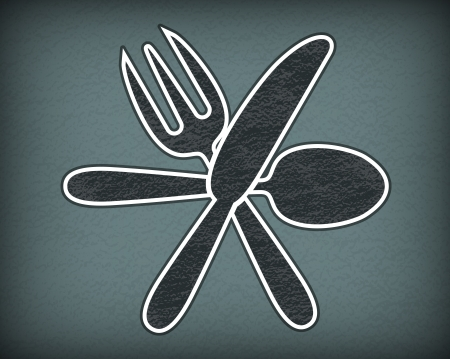 preparing: Cooking theme background Illustration