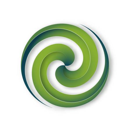 espiral: Concepto de signo Vectores