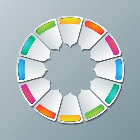 regimen: Bright abstract background, schedule, scheme. Illustration