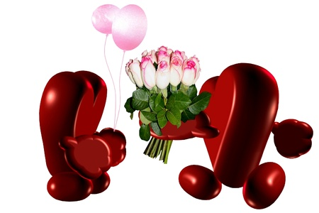 flowerses: rendezvous Stock Photo