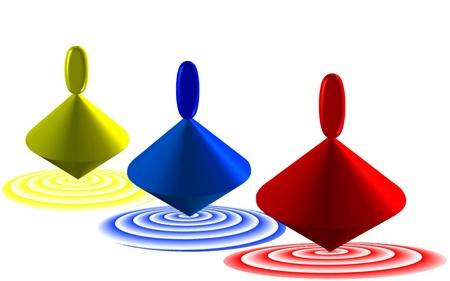 to revolve: three whirligigs