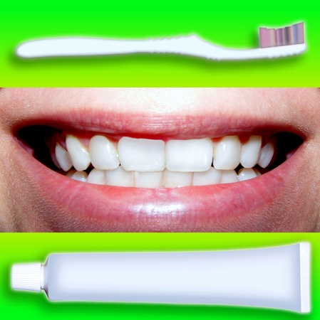 teeths: teeths and all for them Stock Photo