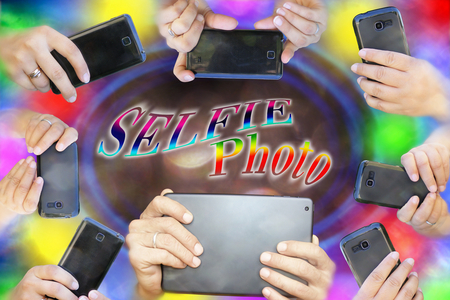 photo montage: photo montage to subjects mobile, modern photography