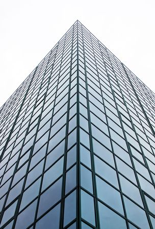Urban city corporate office block building with many glass windows Stock Photo - 5554378