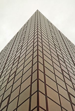 Urban city corporate office block building with many glass windows Stock Photo - 5554615