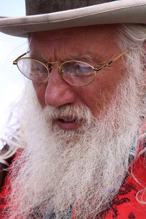 oap: Guilfest Music Festival, Guildford, UK 12th July 2009 Famous storyteller at Guilfest Music Festival
