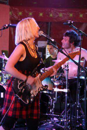 ritzy: Hop Farm Festival, Kent, UK 4709 Ritzy Bryan of rock  punk band Joy Formidable