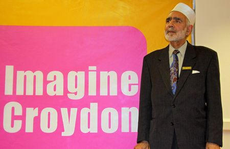 cva: C.V.A. Resource Centre, Croydon, London, UK, 9th September 2009 a man at the Faiths Together Group Meeting