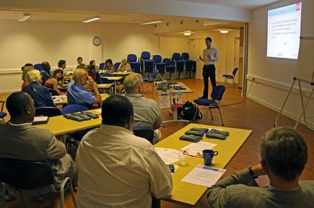 debate: C.V.A. Resource Centre, Croydon, London, UK, 9th September 2009 religious people at the Faiths Together Group Meeting