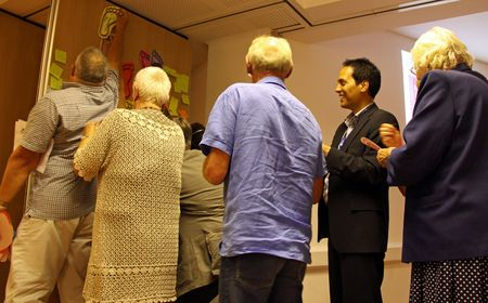 cva: C.V.A. Resource Centre, Croydon, London, UK, 9th September 2009 religious people at the Faiths Together Group Meeting