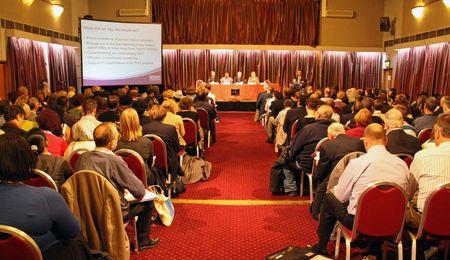 cva: Fairfield Halls, Croydon, London, UK 5th November 2009 people at the Croydon Voluntary Action  C.V.A. Annual General Meeting  A.G.M.