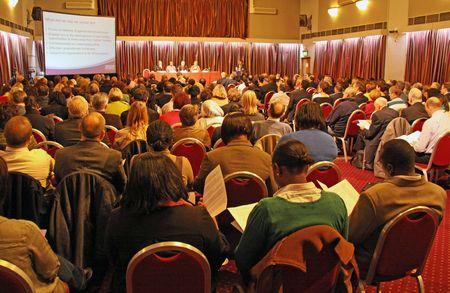 Centros de Fairfield, Croydon, Londres, Reino Unido el 5 de noviembre de 2009 personas en la acción voluntaria de Croydon / Asamblea General anual de C.V.A. / A.G.M.  Editorial