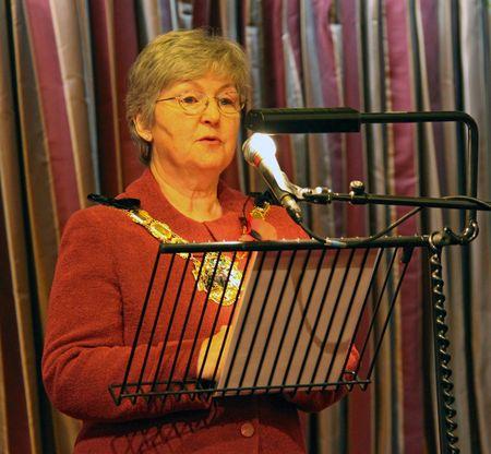 cva: Fairfield Halls, Croydon, London, UK 5th November 2009 Croydon Mayoress Margaret Mead at the Croydon Voluntary Action  C.V.A. Annual General Meeting  A.G.M.