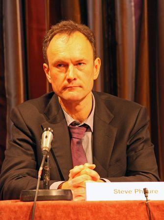 cva: Fairfield Halls, Croydon, London, UK 5th November 2009 Steve Phaure Chief Executive of the Croydon Voluntary Action at the CVA Annual General Meeting  A.G.M. Editorial