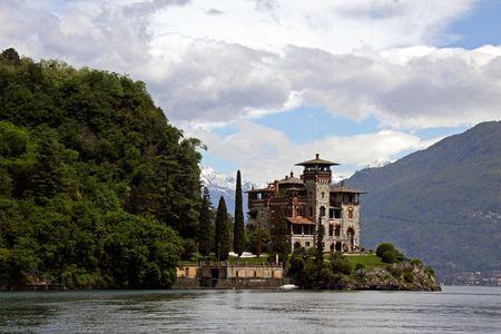 royale: Lago de Como, Italia, 20 de mayo de 2010, Villa La Gaeta, la mansi�n de ladera famoso utilizada en el James Bond Casino Royale de cine