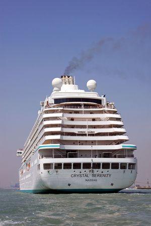 głosowało: Venice, WÅ'ochy, 21510 Crystal Serenity jest statku wycieczkowego luksusowych, jest ona gÅ'osowaÅ'o jak najlepsze na Å›wiecie statek wycieczkowy przez Conde Nast Traveler