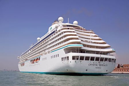 voted: Venice, Italy, 21510 Crystal Serenity is a luxury cruise ship, she is voted as the worlds best cruise ship by Conde Nast Traveler Editorial