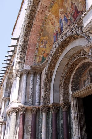 catholism: Venice, Italy, 21510 The Patriarchal Catholic Cathedral Basilica of Saint Mark Editorial