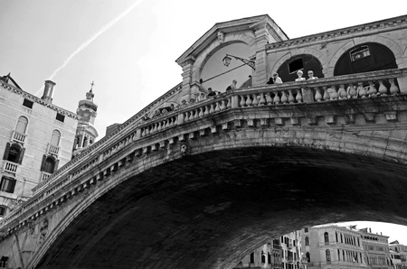 Venice, Italy, 21/5/10, Rialto Bridge, Ponte di Rialto over the Grand Canal Stock Photo - 9437563
