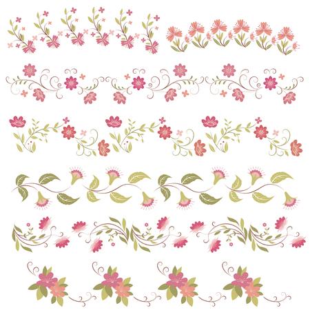 pink flower: pink flower frames