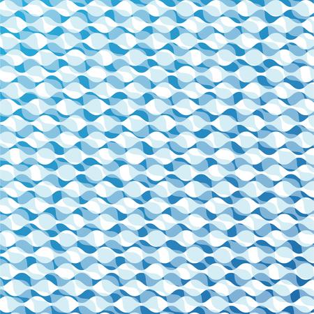 blue moire background Illustration