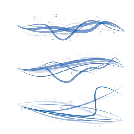 moire: blue moire background Illustration