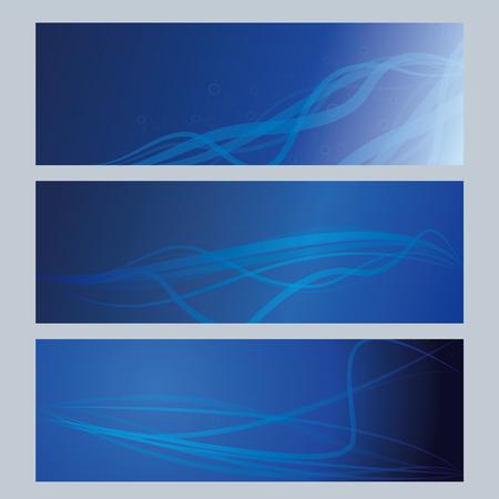 blue cards background Illustration