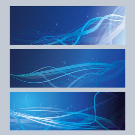 blue greeting cards Illustration