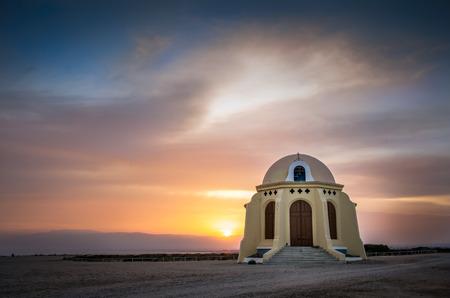 Hermitage located between Retamar and Cabo de Gata, in Almeria, southeast of Spain. It