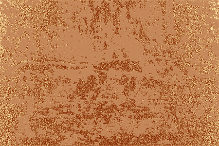 Grunge design. Copper glossy background. Metallic texture. Bronze metal. Trendy template for holiday designs, party, birthday, wedding, invitation, web banner card Illustration
