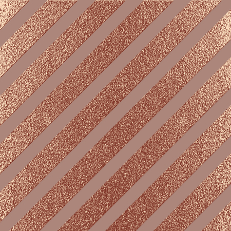 Rose quartz glossy background. Copper, Bronze Metallic texture. Gold Pink metal. Trendy template for New Year, Wedding, Birthday, Flyers,  Banners Party Invitation card. Grunge design. Stock Photo