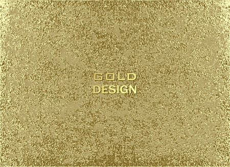 Gold grunge texture to create distressed effect. Patina scratch golden elements. Vintage abstract illustration. Bright sketch surface . Overlay distress grain graphic design