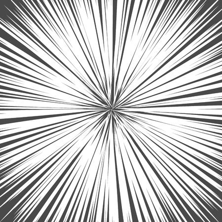 Light rays. Explosion vector illustration. Sun ray or star burst element Illustration