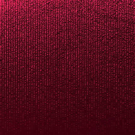 Red pattern. Abstract crimson background. Maroon vector illustration. Scarlet glitter stripes. Dark red foil texture. Luxury pattern. Element for poster, cover, card brochure banner