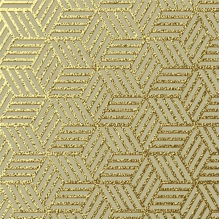 Abstract gold glitter geometric vector background. Trendy modern and stylish set with minimal design for poster, cover, card, brochure, banner Cool pattern Ilustrace