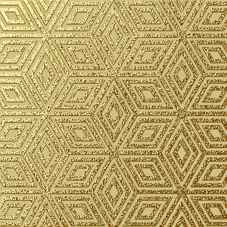Abstract gold glitter geometric vector background. Trendy modern and stylish minimal design for poster, cover, card, broshure, banner. Cool pattern. Ilustrace