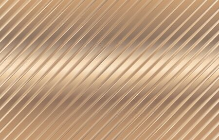 Vector illustration. Copper diagonal lines. Bronze glitter stripes. Geometric pattern. Stylish texture Abstract minimal backdrop Glittering effect. Gold pattern. Abstract golden background.