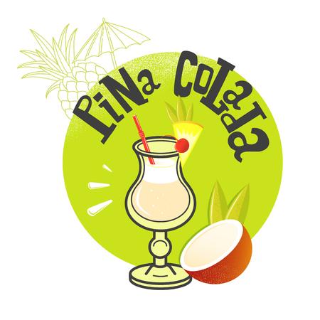 colada: Cocktail Pina Colada