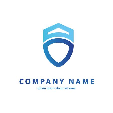 Illustration design of business protection flat symbol