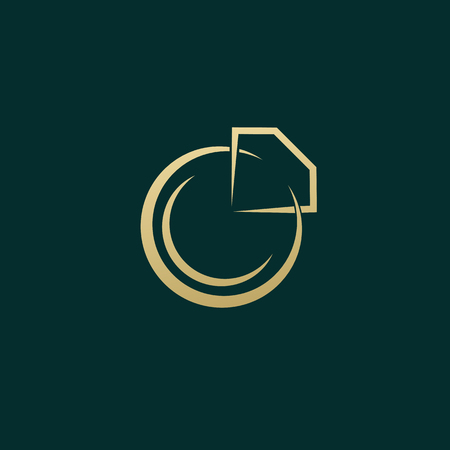 Illustration design of business luxury jewelry symbol.  Vector diamond ring web icon. Illustration