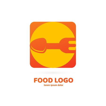 Illustration design of restaurant, cafe, grocery store. Vector menu web icon.