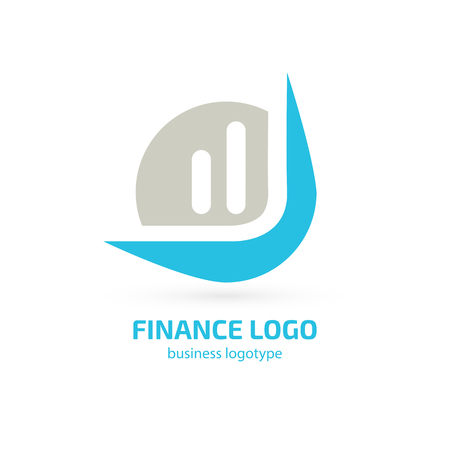 Vector design logo hammer and arrow. Court pictogram, lawyer abstract icon
