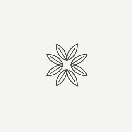 Plant Logotype concept icon. Vector illustration, Editable Design.