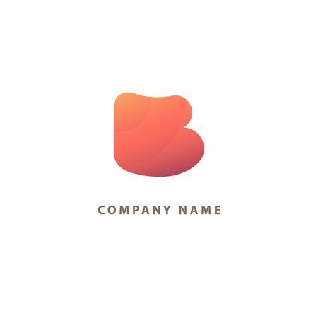 Letter B vector . Vintage Insignia . Business sign, identity, label, badge initials