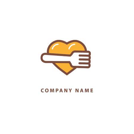 Abstraktes Zeichen, Vektorlogotyp, bearbeitbares Design minimalistisches Symbol Logo