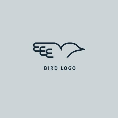 Signo abstracto, logotipo vectorial, signo minimalista de diseño editable. Logotipo de stock vectorial. Diseño de ilustración de logotipo elegante, premium y real.