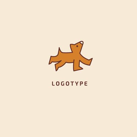 Abstract sign, vector logotype, editable design minimalist sign. Vector stock logo. Illustration design of elegant, premium and royal logotype.